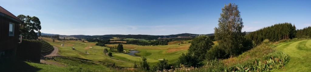Golfbanen i Hauger Golfklub i Norge
