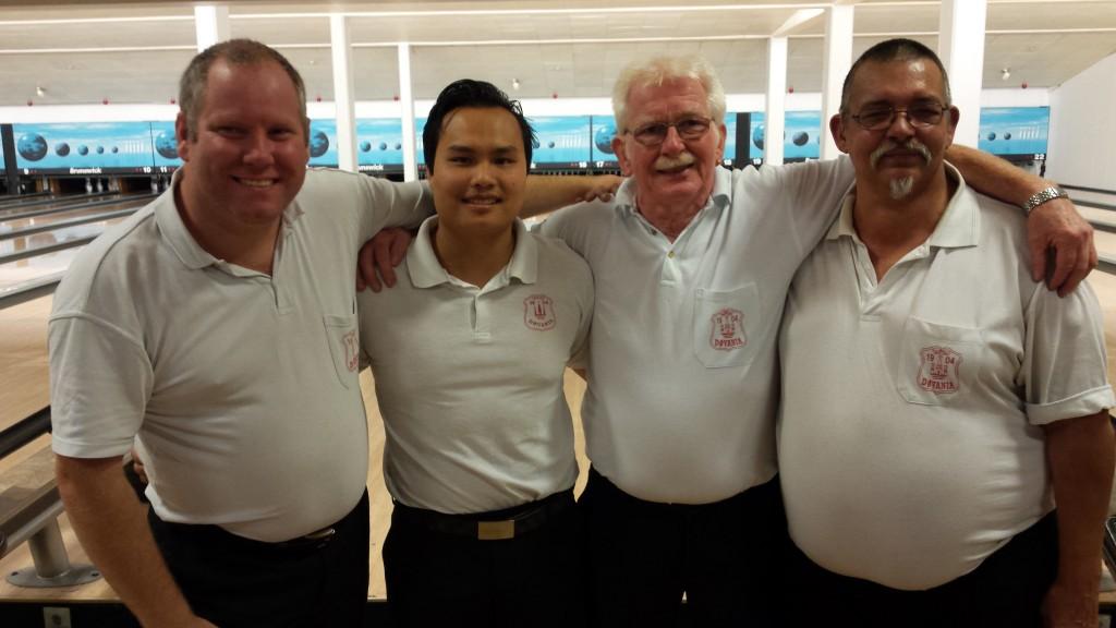 Peter Frank, Hung, John og Mogens
